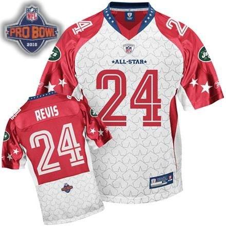 New York Jets Darelle Revis 2010 Pro Bowl AFC