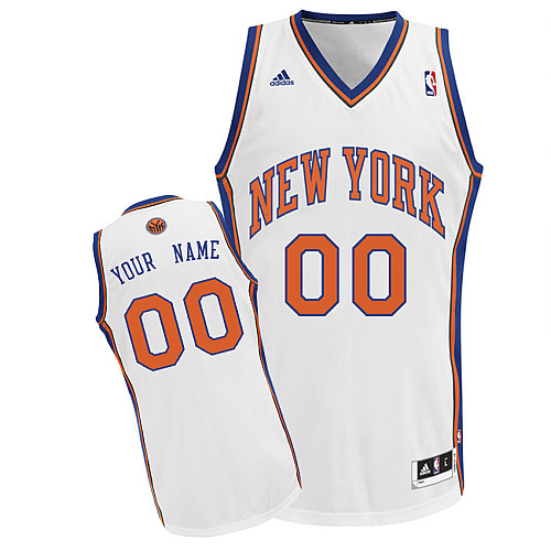 New York Knicks Revolution 30 personalized Custom Swingman Home Jersey