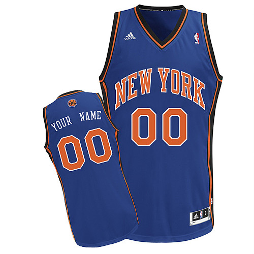 New York Knicks Revolution 30 personalized Custom Swingman Road Jersey