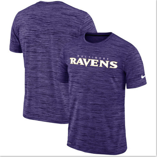 Nike Baltimore Ravens Purple Velocity Performance T-Shirt
