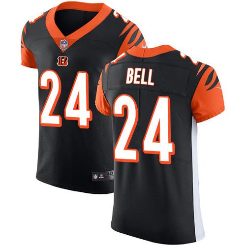 Nike Bengals #24 Vonn Bell Black Team Color Men's Stitched NFL Vapor Untouchable Elite Jersey
