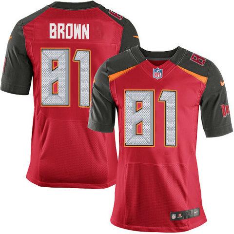 Nike Buccaneers #81 Antonio Brown Red Team Color Men's Stitched NFL Vapor Untouchable Elite Jersey