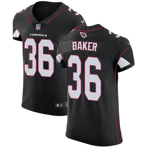 Nike Cardinals #36 Budda Baker Black Alternate Men's Stitched NFL Vapor Untouchable Elite Jersey