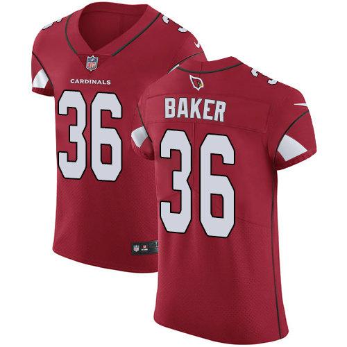 Nike Cardinals #36 Budda Baker Red Team Color Men's Stitched NFL Vapor Untouchable Elite Jersey