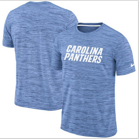 Nike Carolina Panthers Blue Velocity Performance T-Shirt