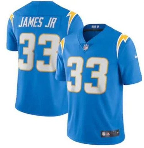 Nike Chargers 33 Derwin James Blue 2020 New Vapor Untouchable Limited Jersey