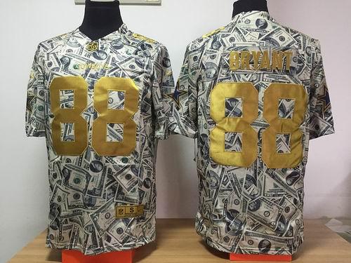 Nike Dallas Cowboys #88 Dez Bryant Dollar Fashion Game jerseys