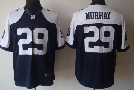 Nike Dallas Cowboys 29 DeMarco Murray Blue Thanksgiving Men's Game NFL Jersey