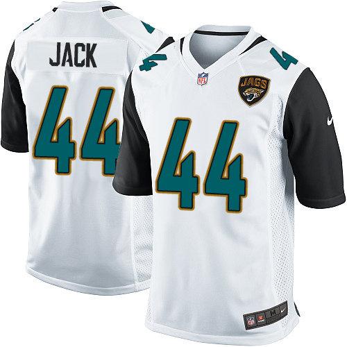 Nike Jacksonville Jaguars 44 Myles Jack Game White NFL Jersey