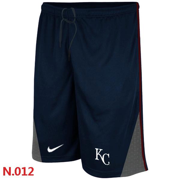Nike Kansas City Royals Performance Training Shorts Dark blue