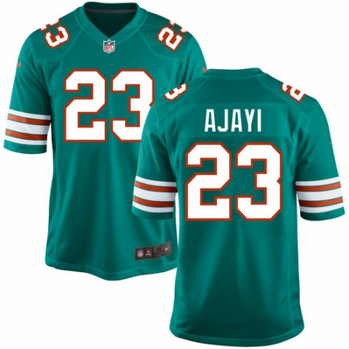 Nike Miami Dolphins 23 Jay Ajayi Aqua Green Alternate NFL Game Jersey