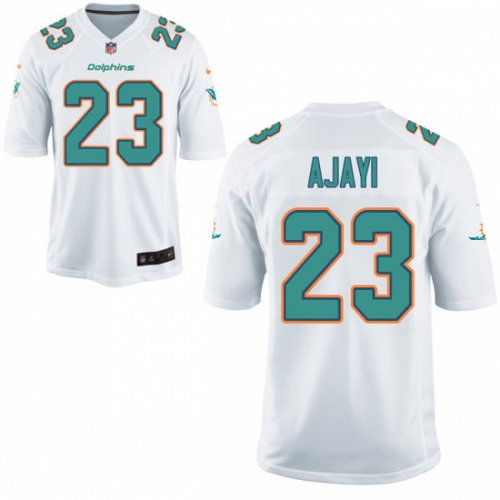 Nike Miami Dolphins 23 Jay Ajayi White NFL New Game Jersey