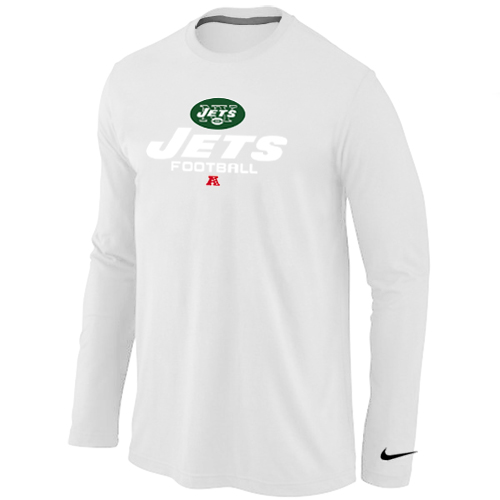Nike New York Jets Critical Victory Long Sleeve T-Shirt  White