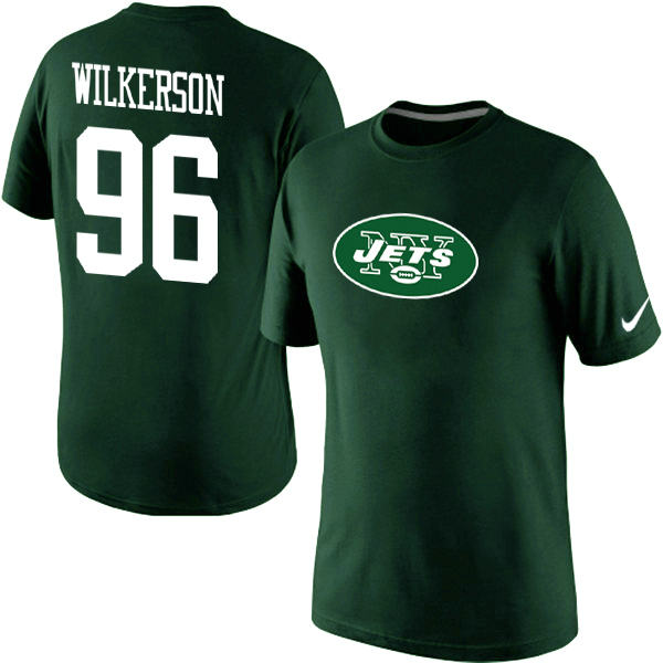 Nike New York Jets Muhammad Wilkerson Name & Number T-Shirt Green