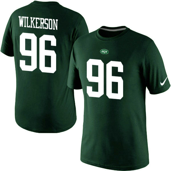 Nike New York Jets Muhammad Wilkerson Pride Name & Number T-Shirt Green
