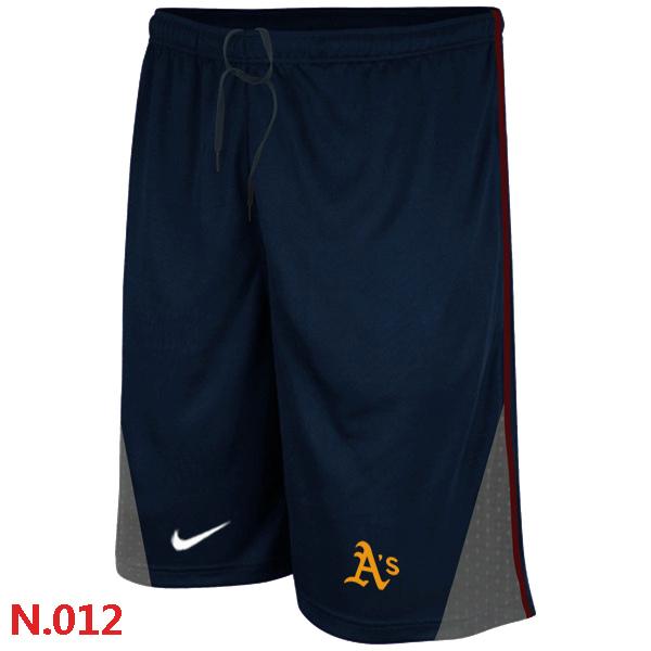 Nike Oakland Athletics Performance Training Shorts Dark blue 2