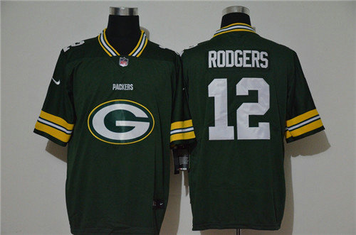Nike Packers 12 Aaron Rodgers Green Vapor Untouchable Limited Jersey