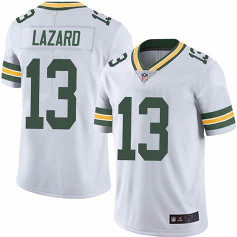 Nike Packers 13 Allen Lazard White Vapor Untouchable Limited Jersey