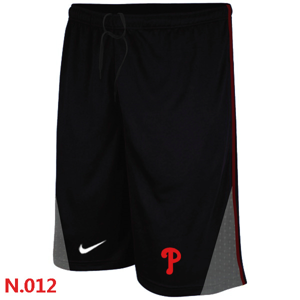 Nike Philadelphia Phillies Performance Training Shorts Black 2