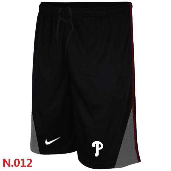 Nike Philadelphia Phillies Performance Training Shorts Black