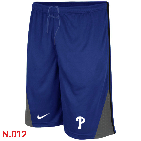Nike Philadelphia Phillies Performance Training Shorts Blue