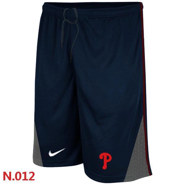 Nike Philadelphia Phillies Performance Training Shorts Dark blue 2