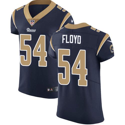 Nike Rams #54 Leonard Floyd Navy Blue Team Color Men's Stitched NFL Vapor Untouchable Elite Jersey