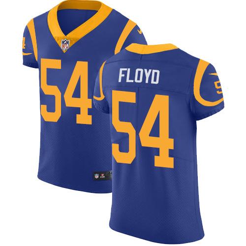 Nike Rams #54 Leonard Floyd Royal Blue Alternate Men's Stitched NFL New Elite Jersey