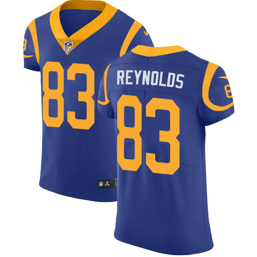 Nike Rams #83 Josh Reynolds Royal Blue Team Color Men's Stitched NFL Vapor Untouchable Elite Jersey