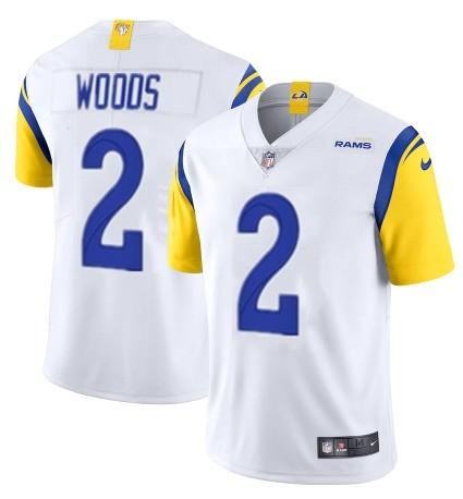 Nike Rams 2 Robert Woods White Vapor Untouchable Limited Jersey