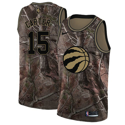 Nike Raptors #15 Vince Carter Camo Women's NBA Swingman Realtree Collection Jersey