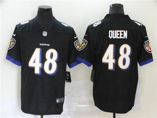 Nike Ravens 48 Patrick Queen Black 2020 NFL Draft First Round Pick Vapor Untouchable Limited Jersey