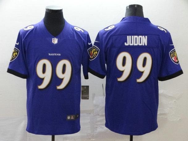 Nike Ravens 99 Matt Judon Purple Vapor Untouchable Limited Jersey