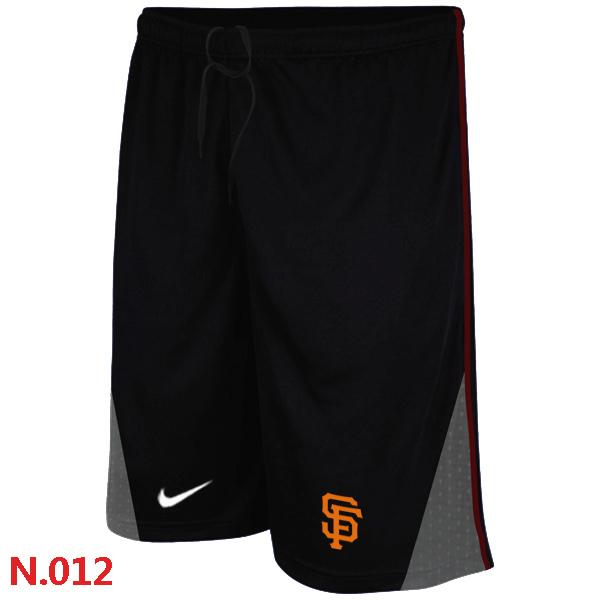 Nike San Francisco Giants Performance Training Shorts Black