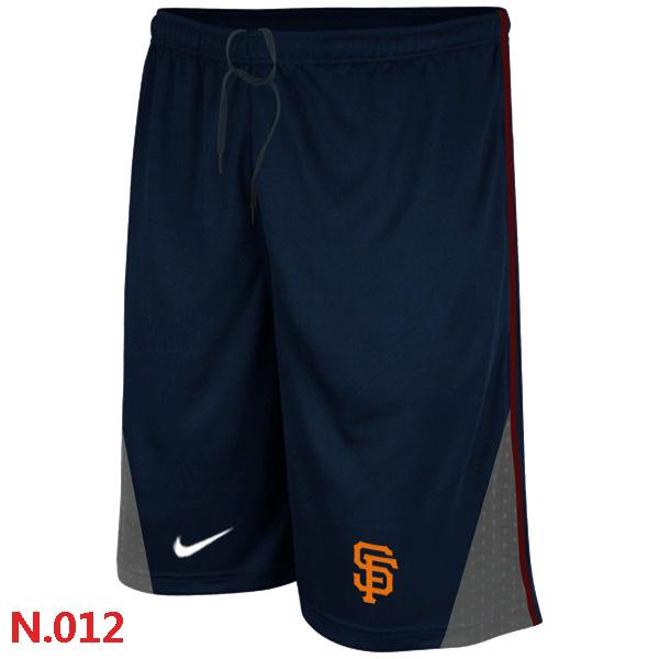Nike San Francisco Giants Performance Training Shorts Dark blue