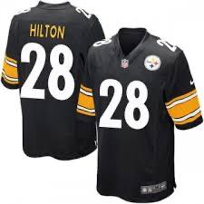 Nike Steelers 28 T.Y. Hilton Black Vapor Untouchable Player Limited Jersey