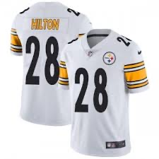 Nike Steelers 28 T.Y. Hilton White Vapor Untouchable Player Limited Jersey
