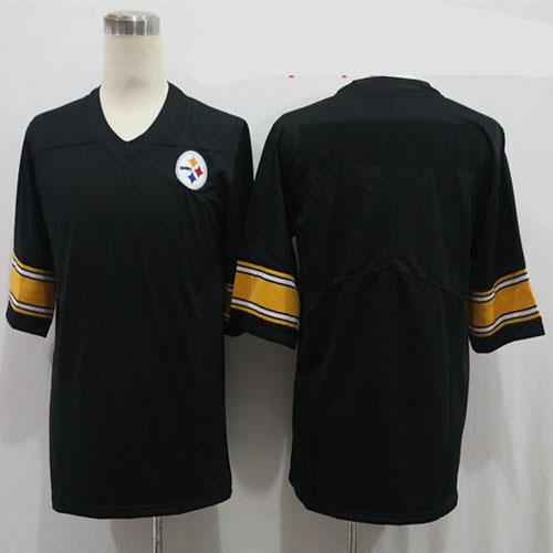 Nike Steelers Blank Black Vapor Untouchable Limited Jersey