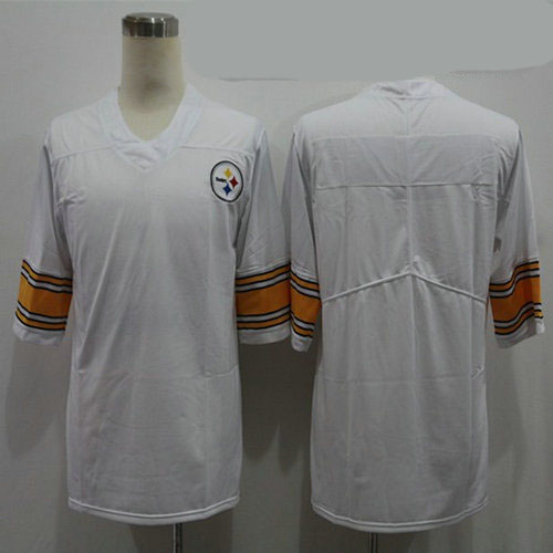 Nike Steelers Blank White Vapor Untouchable Limited Jersey
