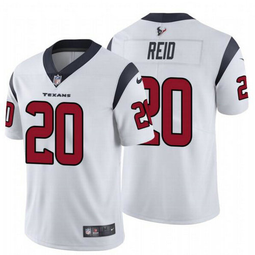 Nike Texans 20 Justin Reid White Vapor Untouchable Limited Jersey