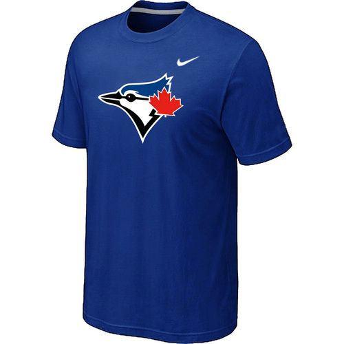 Nike Toronto Blue Jays Authentic Logo T-Shirt Blue
