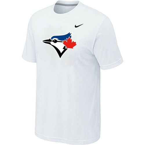 Nike Toronto Blue Jays Authentic Logo T-Shirt White