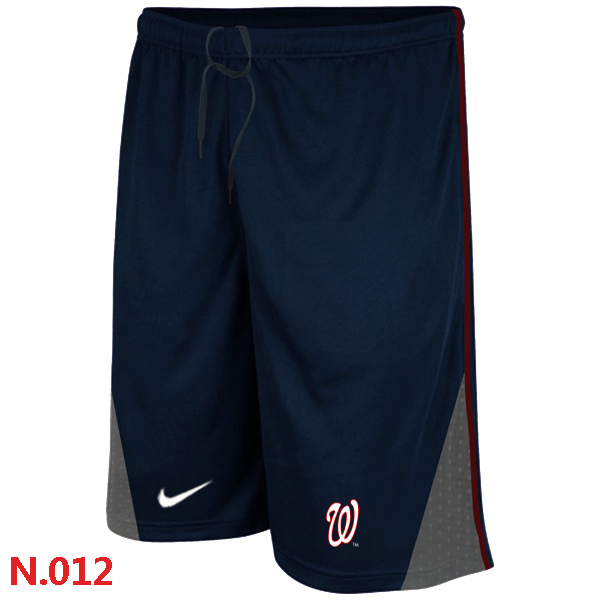 Nike Washington Nationals Performance Training Shorts Dark blue