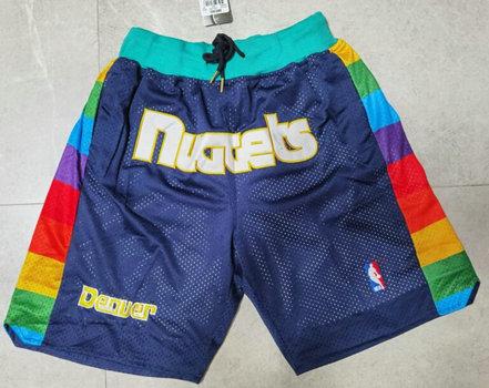 Nuggets Teams Navy Just Don With Pocket Swingman Shorts