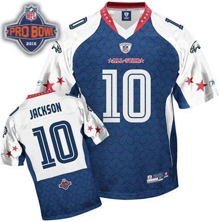Philadelphia Eagles #10 DeSean Jackson 2010 Pro Bowl NFC