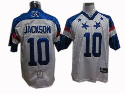 Philadelphia Eagles 10# DeSean Jackson 2011 Pro Bowl NFC Jersey