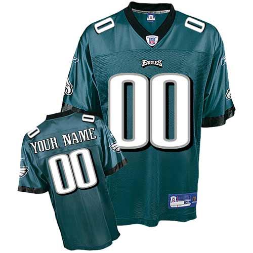 Philadelphia Eagles Customized Team Color Jersey