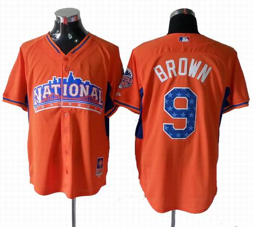 Philadephia Phillies 9# Domonic Brown National League 2013 All Star Jersey