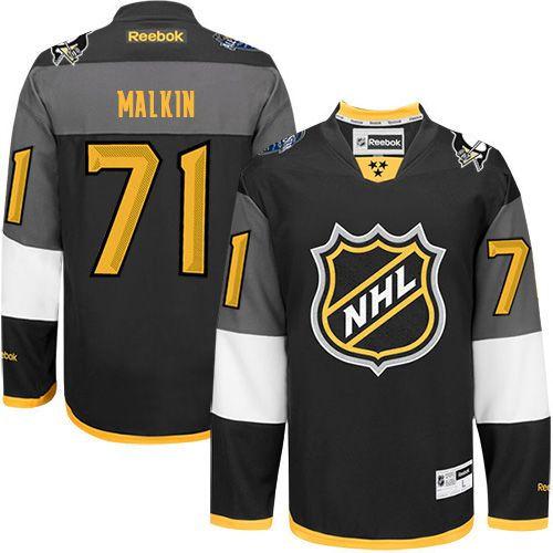 Pittsburgh Penguins 71 Evgeni Malkin Black 2016 All Star NHL Jersey