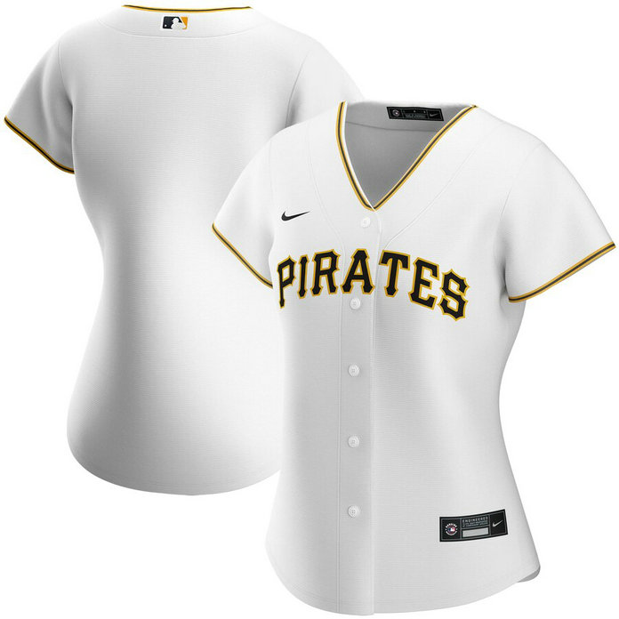 Pittsburgh Pirates Nike Women's Home 2020 MLB Team Jersey White
